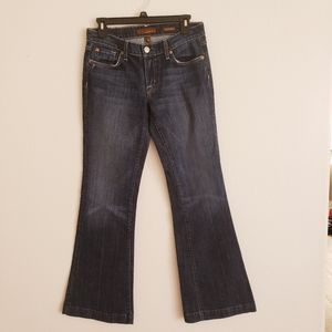 Genuine Fossil Women's Relaxed Flare Jeans sz 28